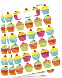 Cupcake Yummie Feestzakjes