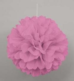 Hangdecoratie Pom Pom roze