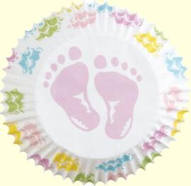 Cupcakevormpjes Baby pk75