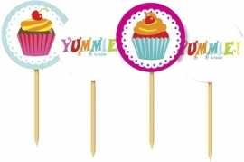 Partyprikkers Cupcake