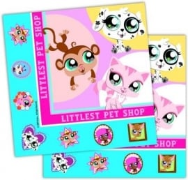 Servetten Littlest Pet Shop