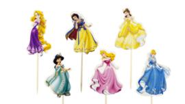 Disney Prinsessen cupcake Lunch Prikkers