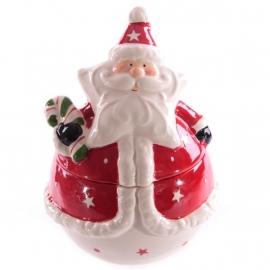 Snoepjes/koekjespot, kerstman