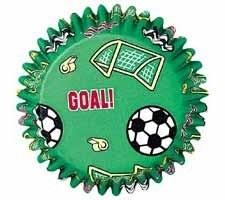 Wilton Baking cups Soccer pk/50