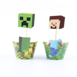 Minecraft Cupcake wikkels
