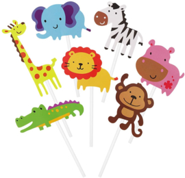 Jungle caketoppers