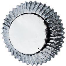 Cupcakevormpjes Silver pk/24