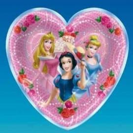 Princess Fantasy Bord Hart