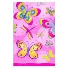 Uitdeelzakjes vlinder/libelle 8 stuks