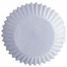 Cupcakevormpjes White pk/75