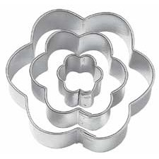 Wilton Cut-Outs Flower set/3