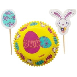 Cupcakevormpjes Lente Pasen