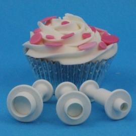 PME Miniature Round Plunger Cutter set/3
