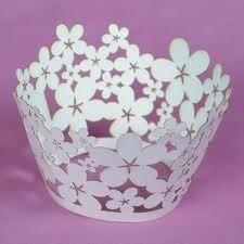 Culpitt 12 Cupcake wraps - Blossom-