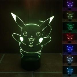 Pikachu LED lamp