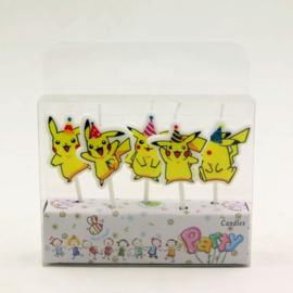 Taartkaarsjes Pikachu