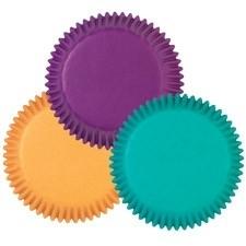 Cupcakevormpjes Jewel Colors pk/100
