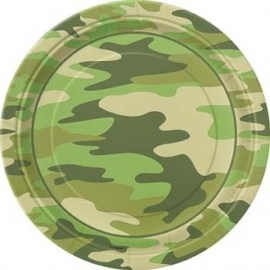 Camouflage bord 23 cm