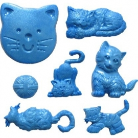 FI Molds Cat set/9