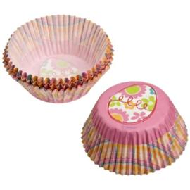 Cupcakevormpjes Easter Garden pk/75