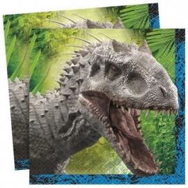 Jurassic World servetten 33 x 33