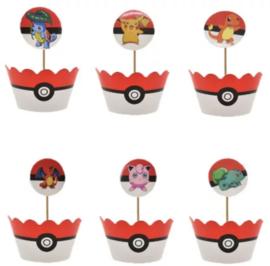 Pokemon GO Cupcake Wikkels