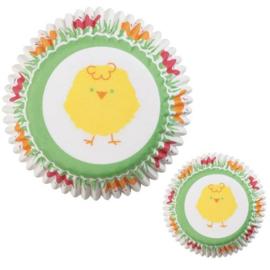 Cupcakevormpjes voor Mini Cupcakes