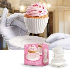 Bakvorm cupcake theekop