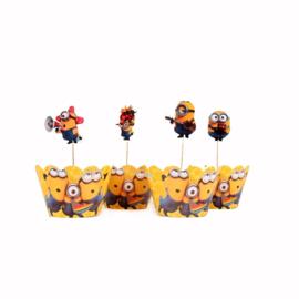 Cupcake houders Minions 2