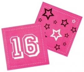 Servet sweet 16