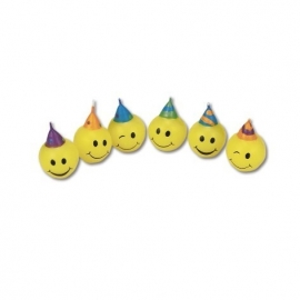 Städter Smiley Faces kaarsen set/6