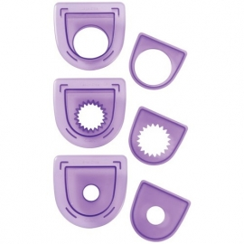 Wilton 3-Pc. Layered Circles Cutting Insert Set