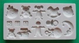 Alphabet Moulds Nursery
