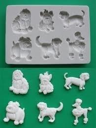 Alphabet Moulds Dogs