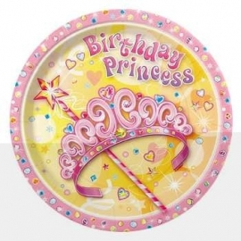Pretty Princess Bord 18 cm