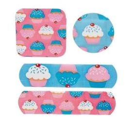 AU! Cupcake pleisters