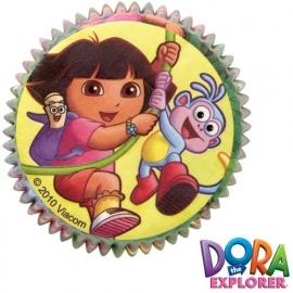 Cupcakevormpjes Dora pk/50