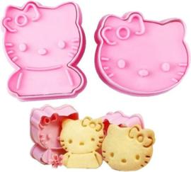 Koekjes uitstekers Hello Kitty