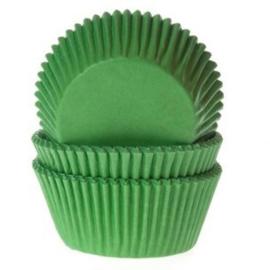 Cupcakevormpjes Gras Groen - pk/50