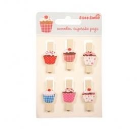 Cupcake knijpertjes