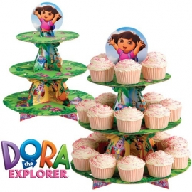 Wilton Cupcake Stand Dora The Explorer