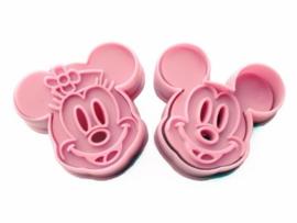 Mickey en Minni Mouse