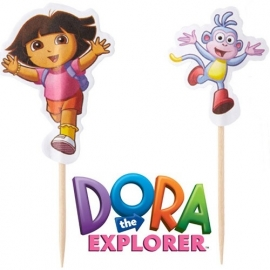 Wilton Fun Pix Dora The Explorer pk/24