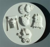 Alphabet Moulds Baby Girl