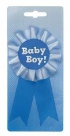Rozet geboorte jongen
