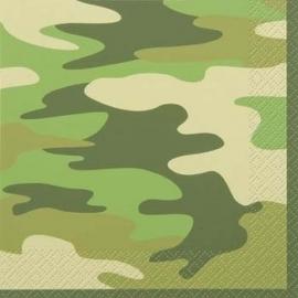 Camouflage servetten
