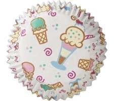 Cupcakevormpjes Ice Cream pk/50