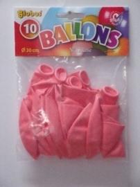 Ballonnen roze 10 stuks