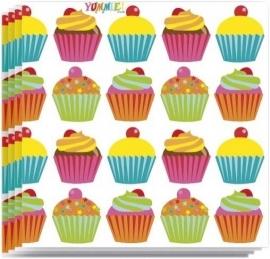 Cupcake Yummie Servetten