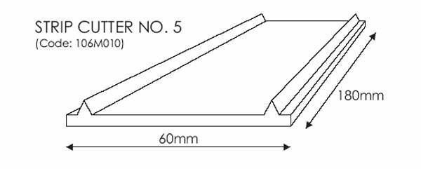 JEM Strip Cutter No. 5 -50mm-